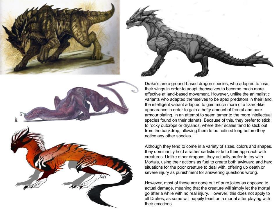 Drake (Dragon subspecies)