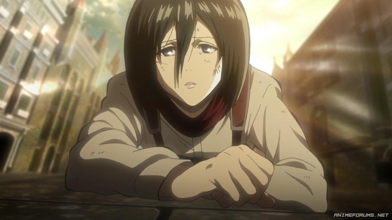 mikasa ackerman image 102 anime warrior girls anime forums