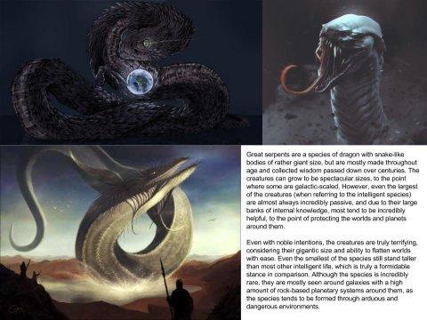 Great serpent (Dragon subspecies)