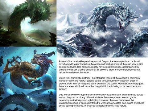 Sea serpent (Dragon subspecies)