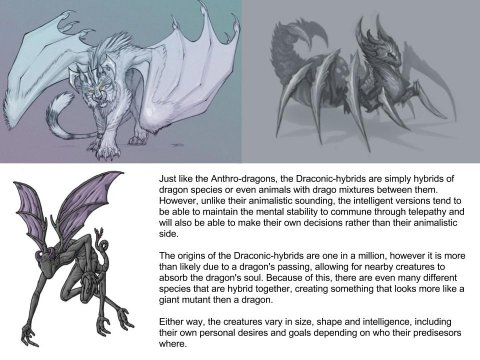 Draconic-Hybrid (Dragon subspecies)
