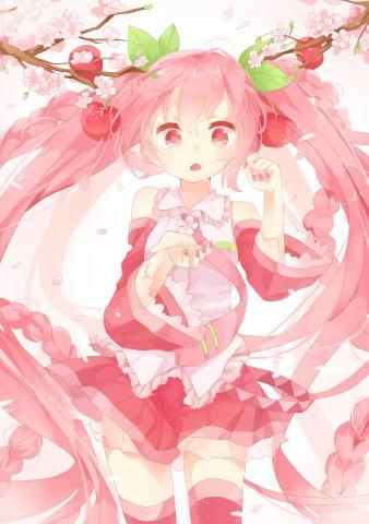 Sakura Hatsune Miku 2