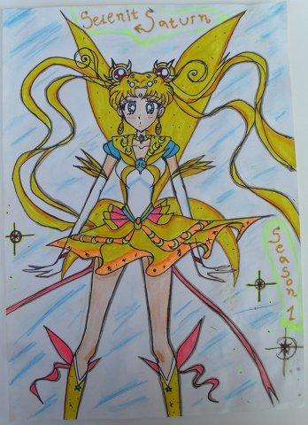 Selenit Saturn (Sailor Moon) Season 1