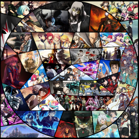 Anime Collage Profile Pic