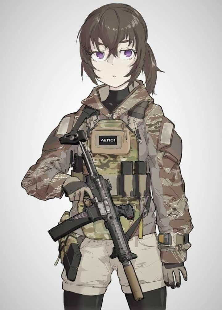 Military Anime Girls