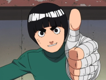 Why I like Rock Lee so dang much.